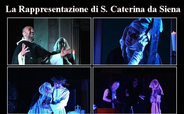 La Rappresentazione Di S. Caterina Da Siena Rappresentazione sacra Regia Elisabetta Bernardini
